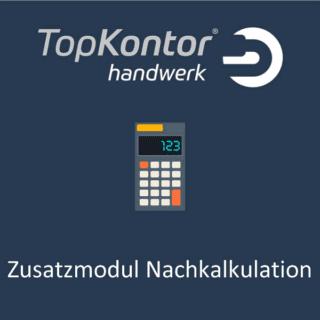 TopKontor Handwerk - Nachkalkulation