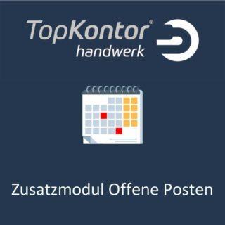 TopKontor Handwerk - Zusatzmodul Offene Posten