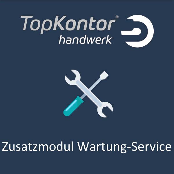 TopKontor Handwerk - Zusatzmodul Wartung und Service